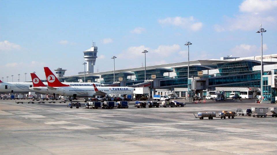 Аэропорт имени Ататюрка, Стамбул, Турция