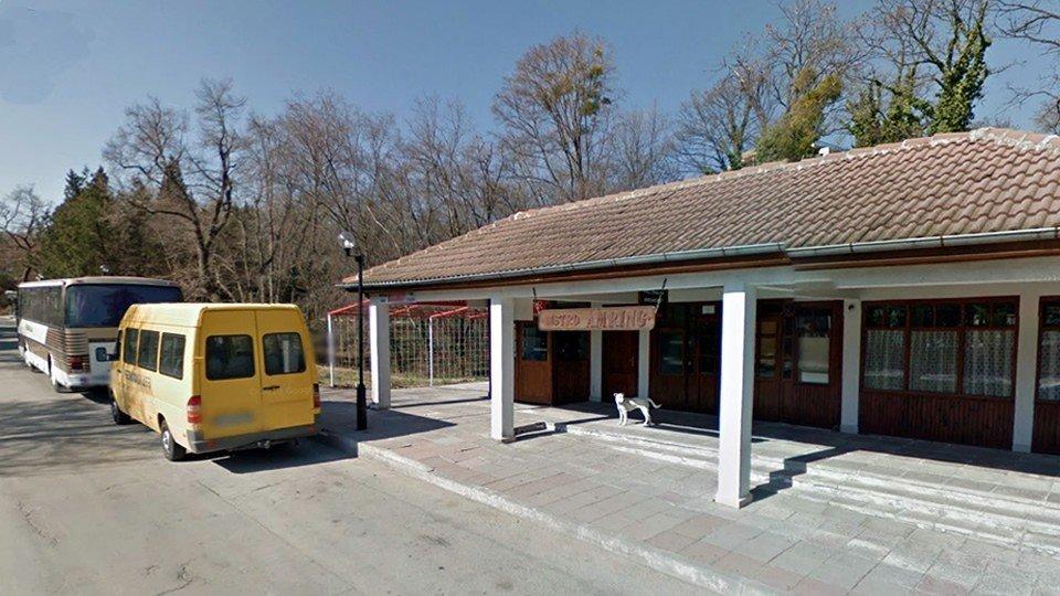 Автобусная остановка «Республика», Золотые пески, Болгария