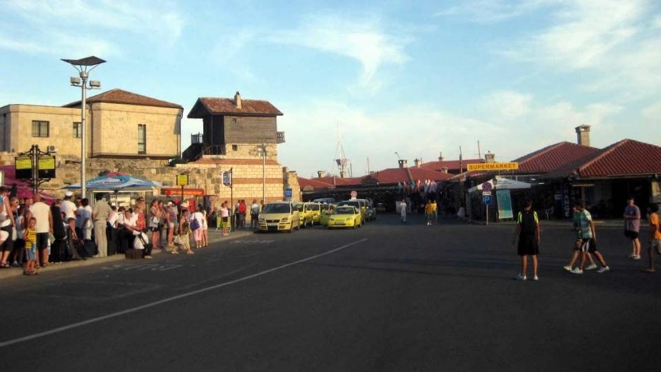 Автостанция «Старый Город» в Несебре, Болгария