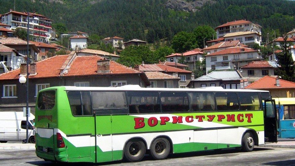 Автобусы Болгарии: автобус туристического оператора, Болгария