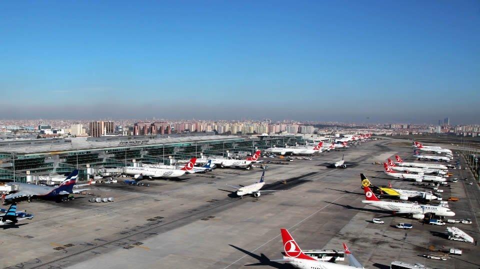 Авиатранспорт в Турции