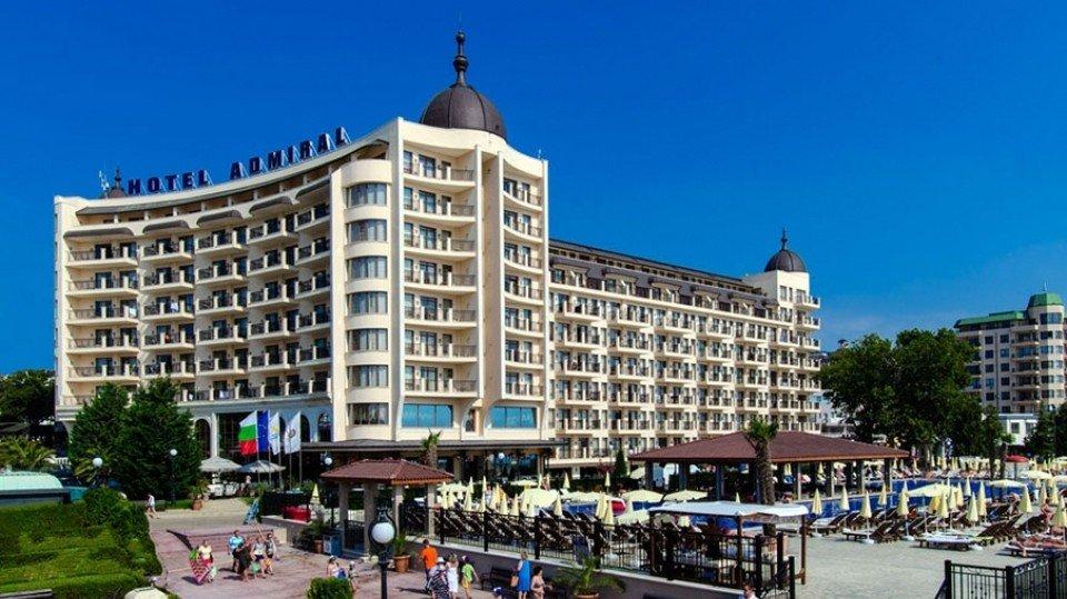 Отель Admiral Golden Sands 5*, Золотые пески, Болгария