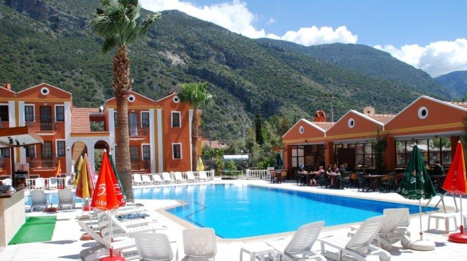 Отель Akdeniz Beach Hotel 3*, Фетхие, Турция