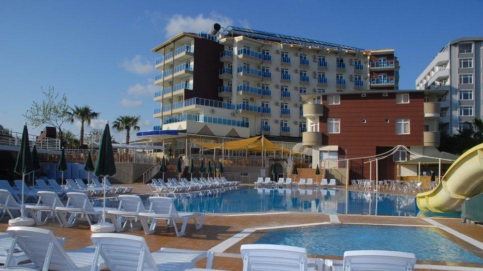 Отель Akin Paradise Hotel 4*, Алания, Турция