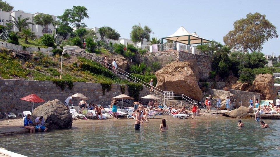 Отель Akvaryum Beach Hotel 3*, Бодрум, Турция