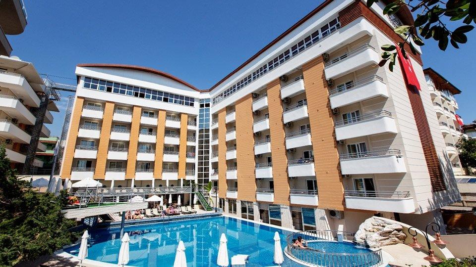 Отель Alaiye Kleopatra Hotel 4*, Алания, Турция