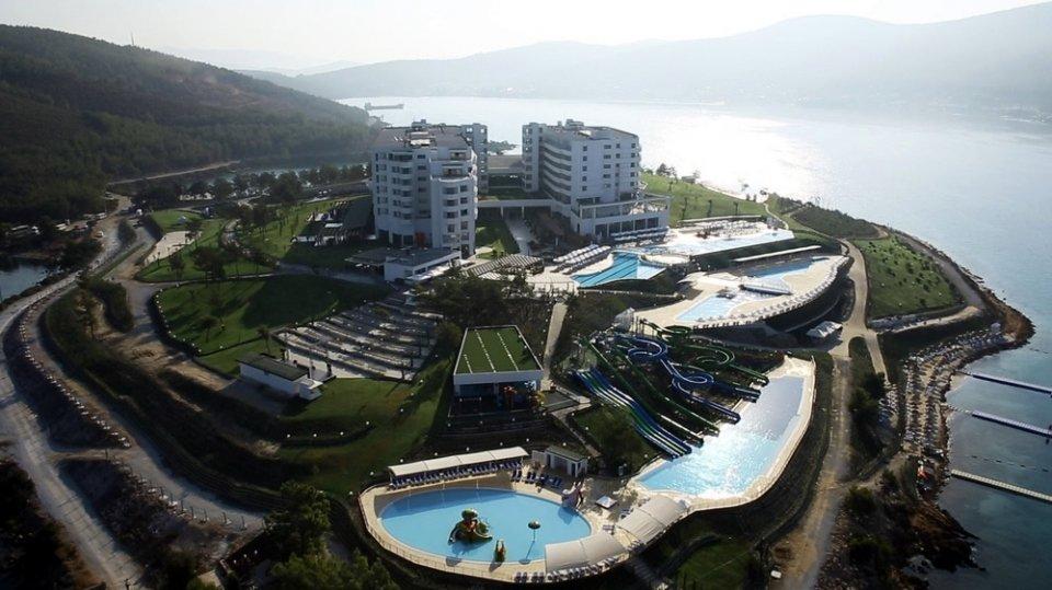 Отель Amara Island Bodrum Elite 5*, Бодрум, Турция