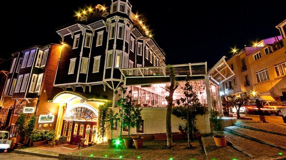 Отель Amiral Palace Hotel 4*, Стамбул, Турция