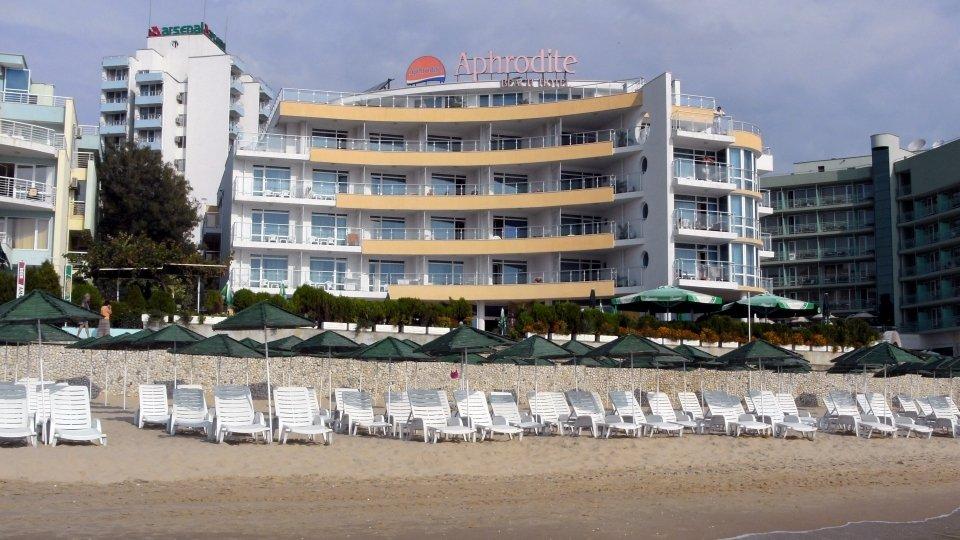 Отель Aphrodite Beach Hotel 5* в Несебре, Болгария