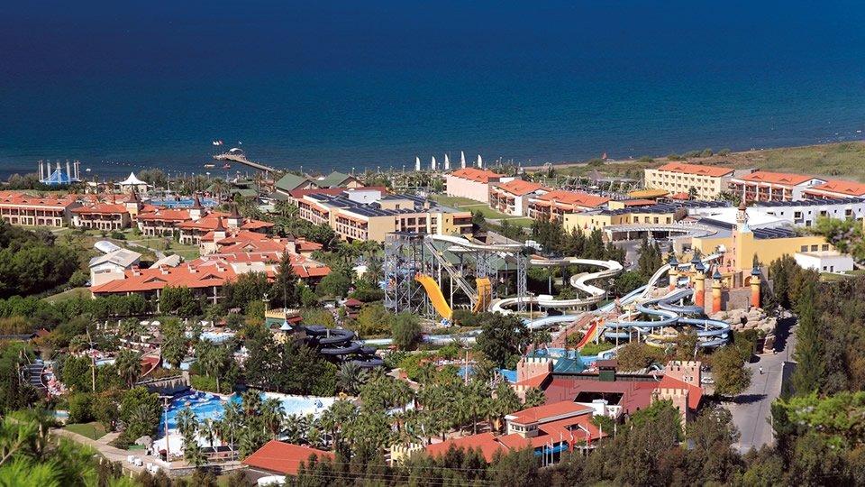 Отель Aqua Fantasy Aquapark Hotel & Spa 5*, Кушадасы, Турция