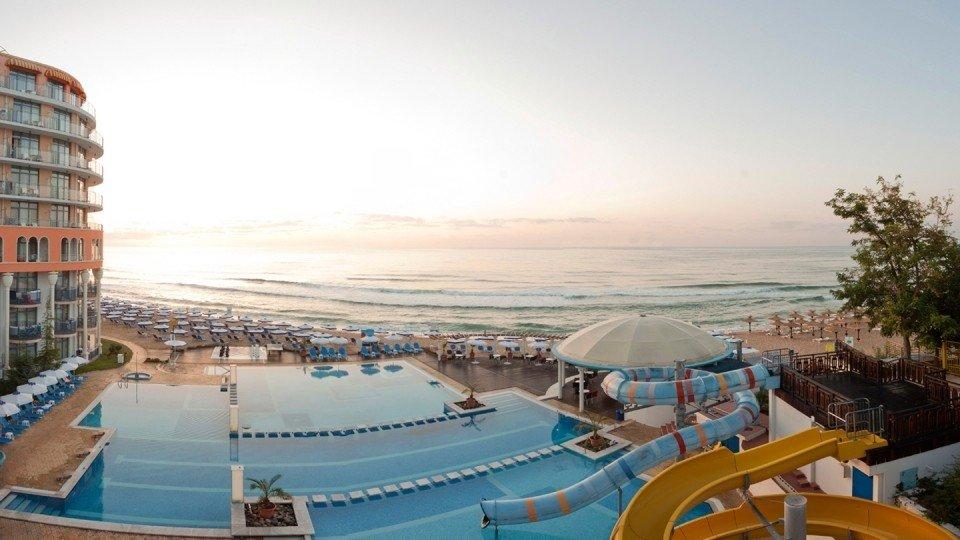 Отель Azalia Hotel 4*, курорт Святые Константин и Елена, Болгария