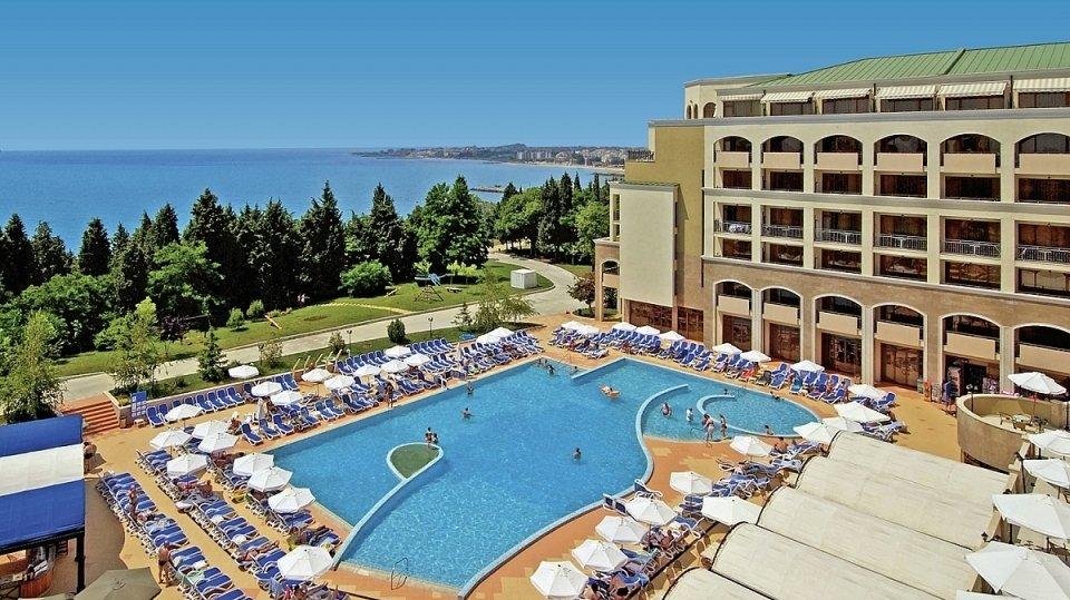 Отель Sol Nessebar Bay Resort & Aquapark 4* в Несебре, Болгария