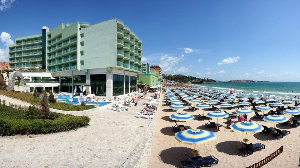 Отель Bilyana Beach Hotel 4* в Несебре, Болгария