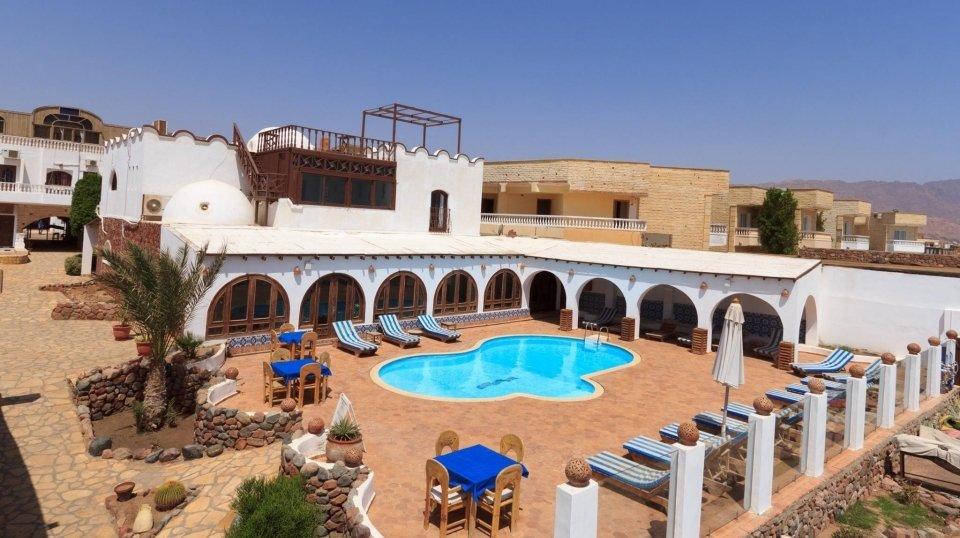 Blue Beach Club 3*, Дахаб, Египет
