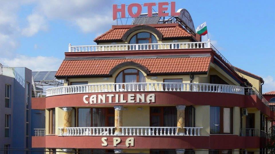 Отель Cantilena Hotel 3* в Несебре, Болгария