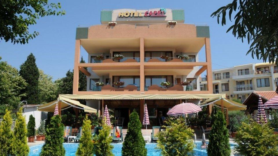 Отель Capri Hotel 3* в Несебре, Болгария