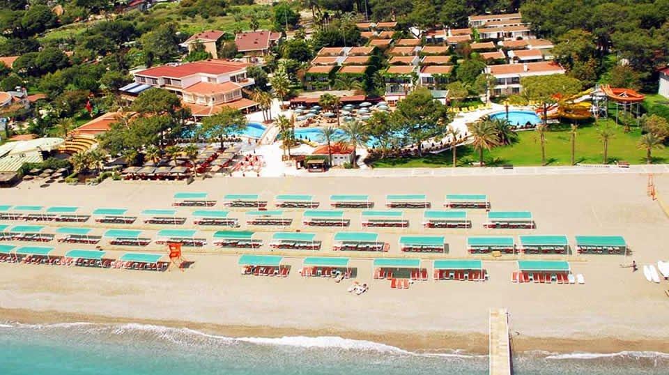 Отель Club Boran Mare Beach 5*, Кемер, Турция