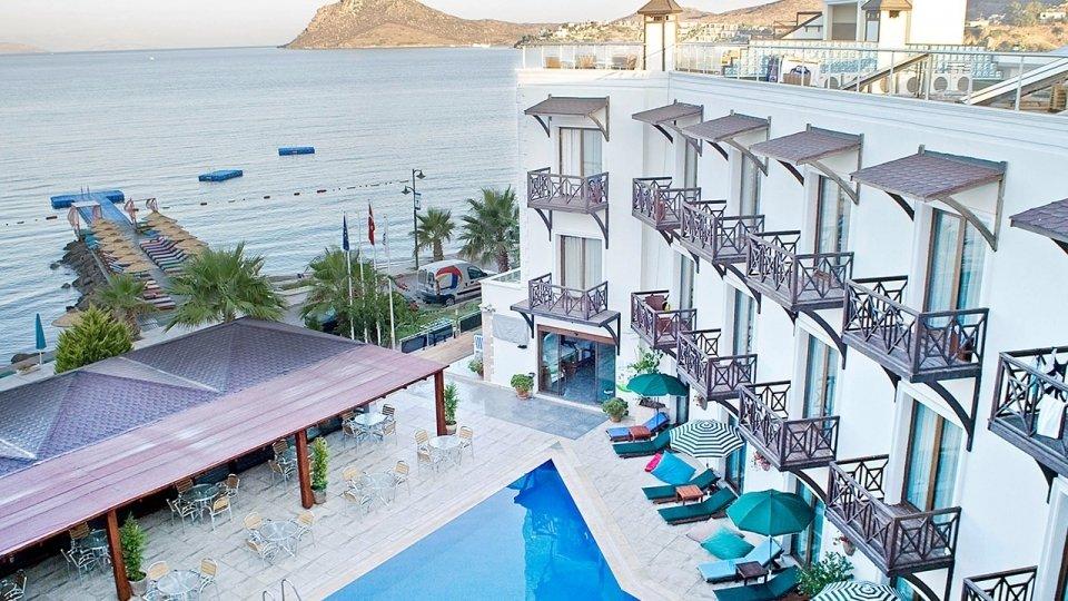 Отель Elite Bodrum Hotel 4*, Бодрум, Турция