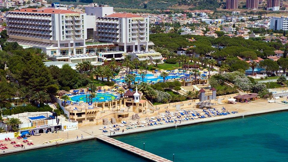 Отель Fantasia De Luxe Kusadasi 5*, Кушадасы, Турция