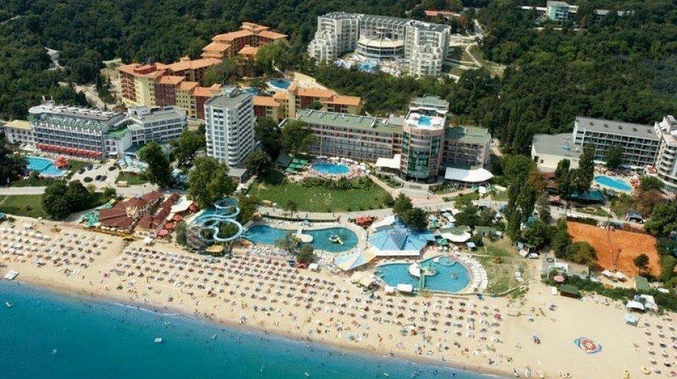 Отель Golden Beach Park Hotel 4*, Золотые пески, Болгария