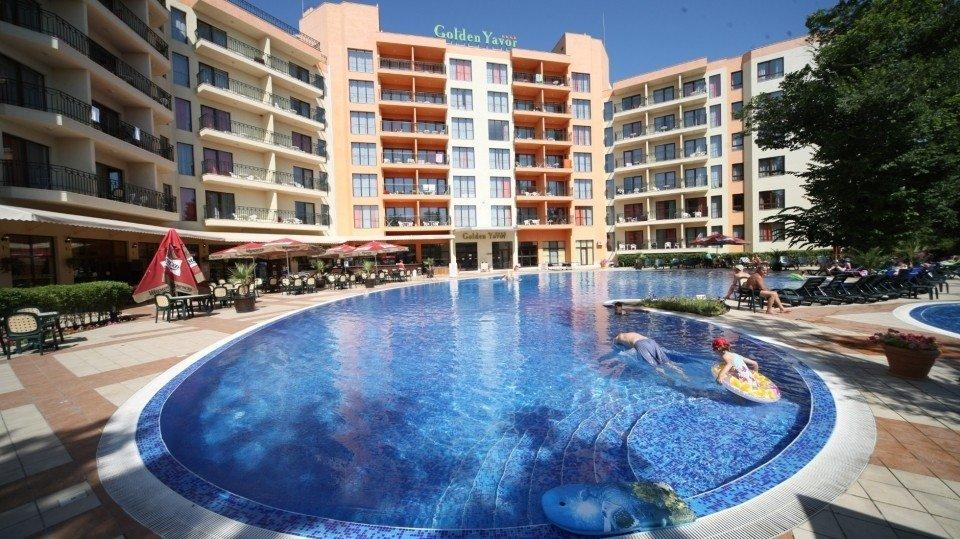 Отель Golden Yavor Hotel 4*, Золотые пески, Болгария