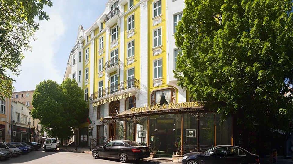Отель Grand Hotel London 5*, Варна, Болгария