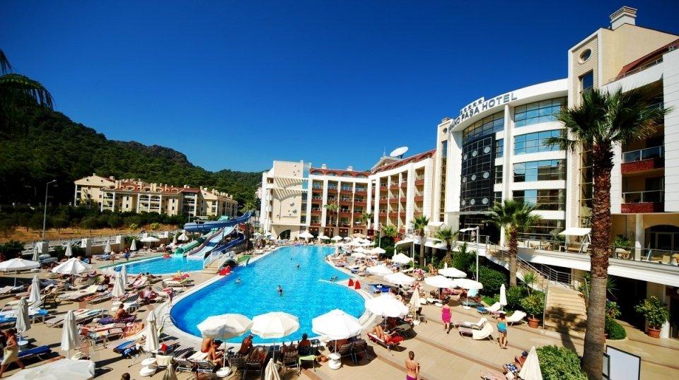 Отель Grand Pasa Hotel 5*, Мармарис, Турция