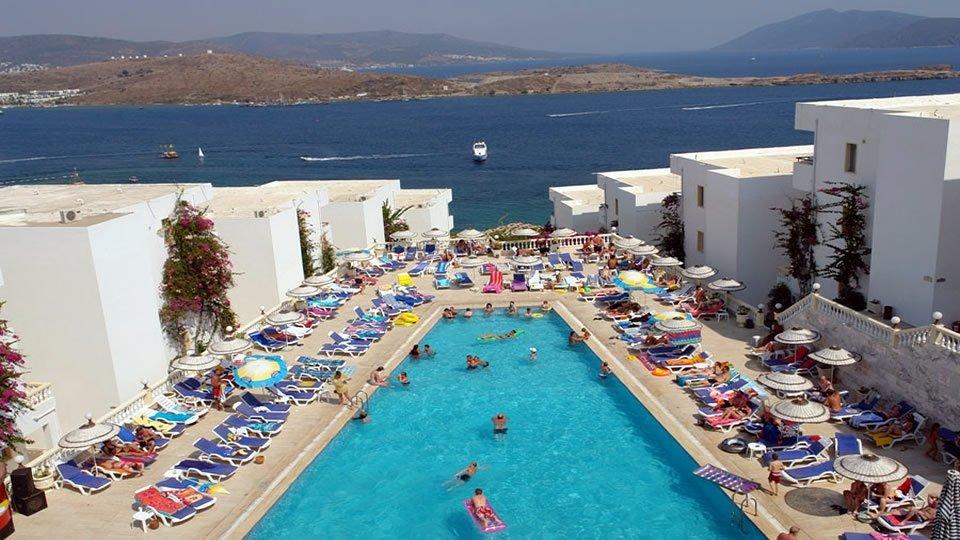 Отель Gumbet Holiday Beach Resort 3*, Бодрум, Турция