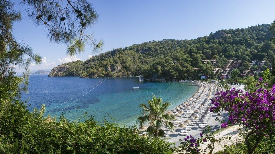 Отель Hillside Beach Hotel 5*, Фетхие, Турция