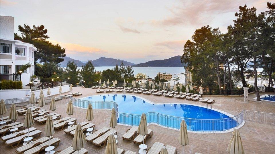 Отель Ideal Panorama Holiday Villas 4*, Мармарис, Турция
