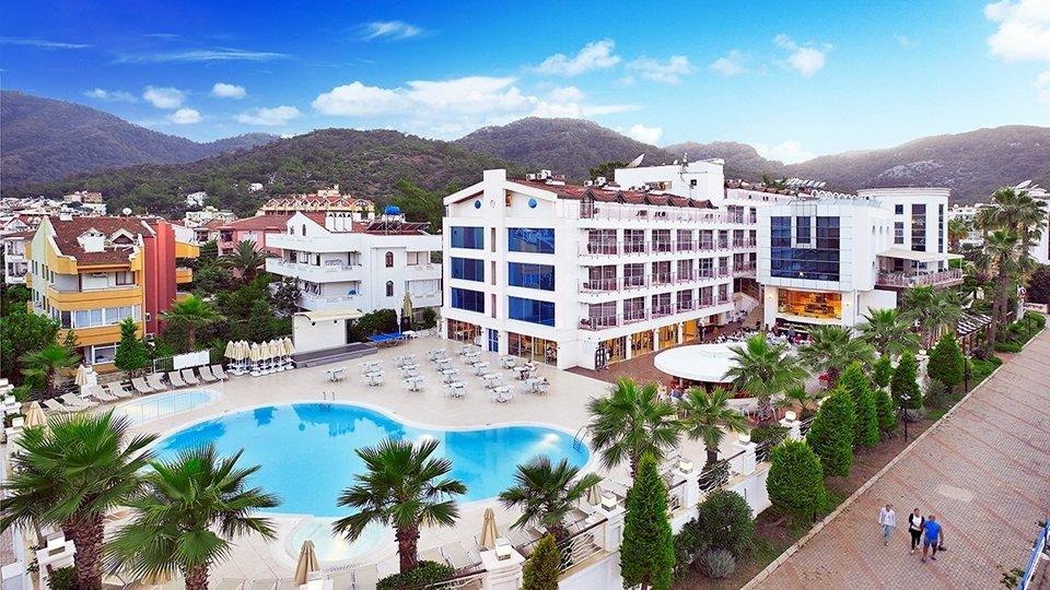 Отель Ideal Pearl Hotel 4*, Мармарис, Турция