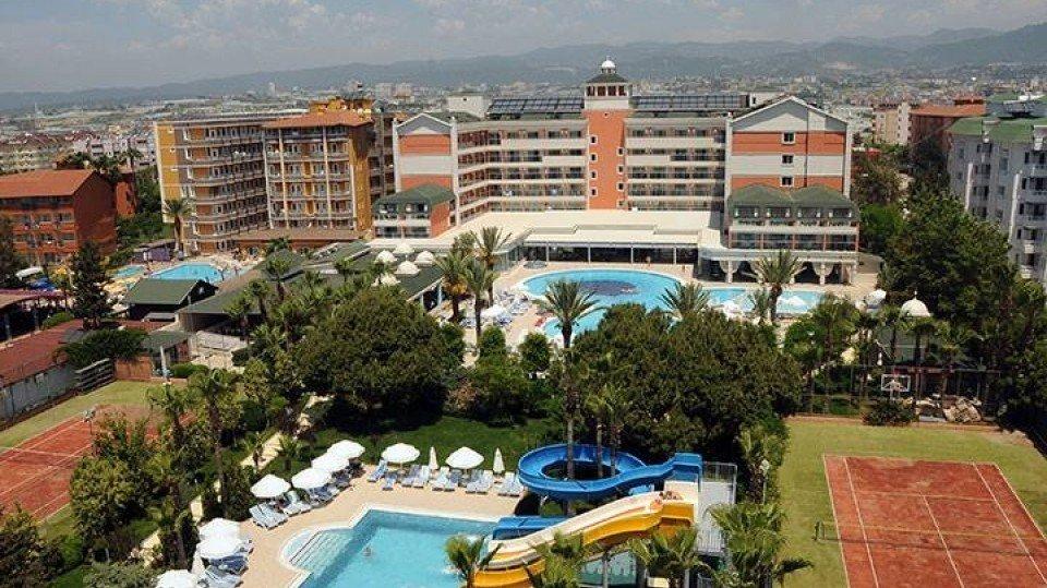 Общий вид отеля Insula Resort & Spa, Алания, Турция