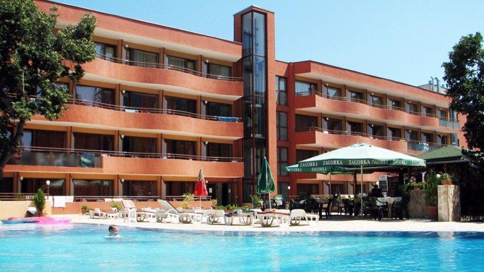 Отель Kamchia Hotel 3*, Золотые пески, Болгария