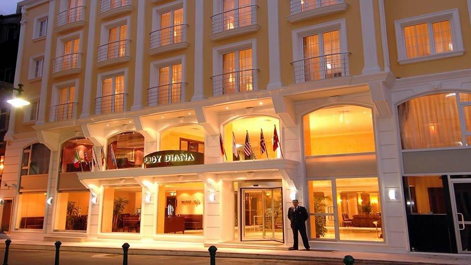 Отель Lady Diana Hotel 4*, Стамбул, Турция