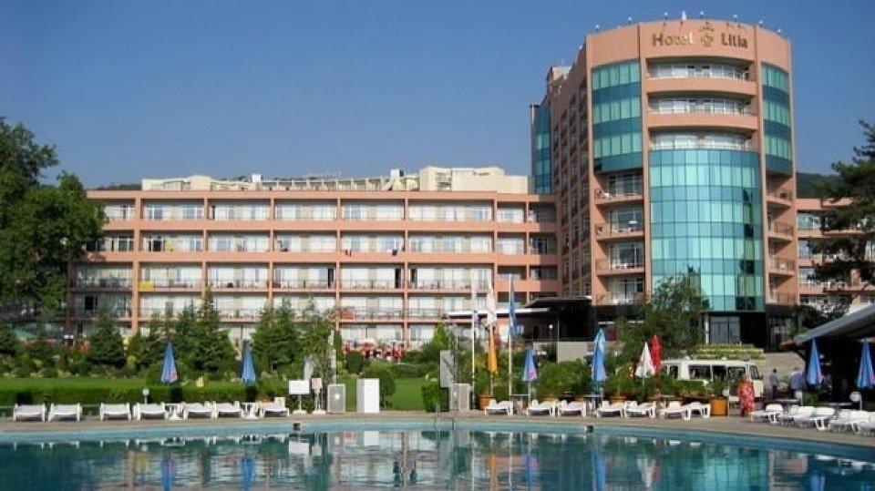 Отель Lilia Hotel 4*, Золотые пески, Болгария