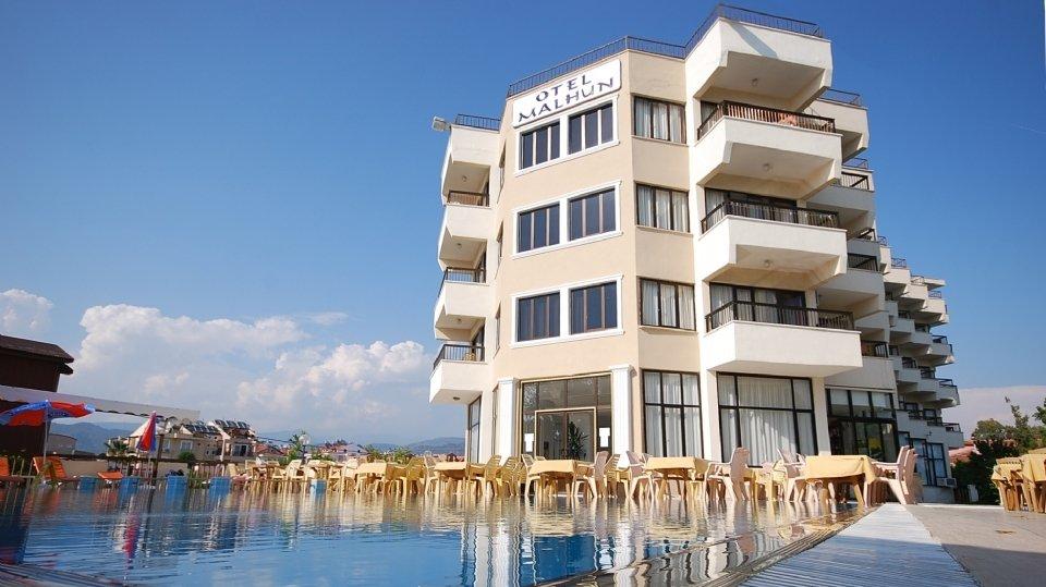 Отель Malhun Calis Beach Hotel 3*, Фетхие, Турция