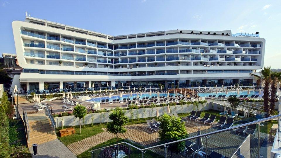 Отель Numa Beach & Spa 5* в Авсалларе, Турция
