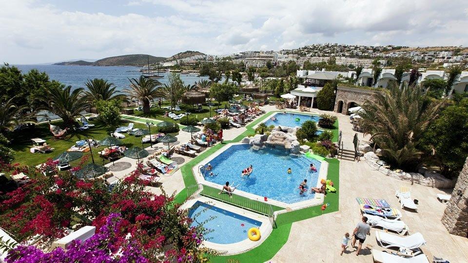 Отель Royal Asarlik Beach & Spa 5*, Бодрум, Турция