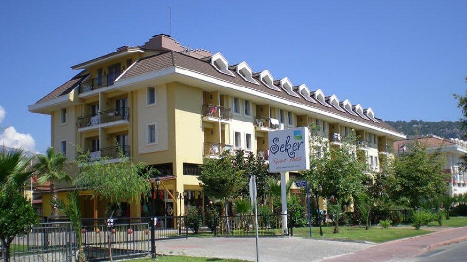 Отель Seker Resort Hotel 3*, Кемер, Турция