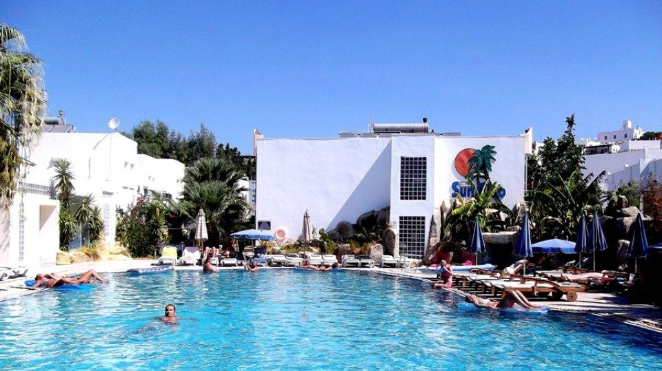 Отель Sun Club Bodrum Hotel 3*, Бодрум, Турция