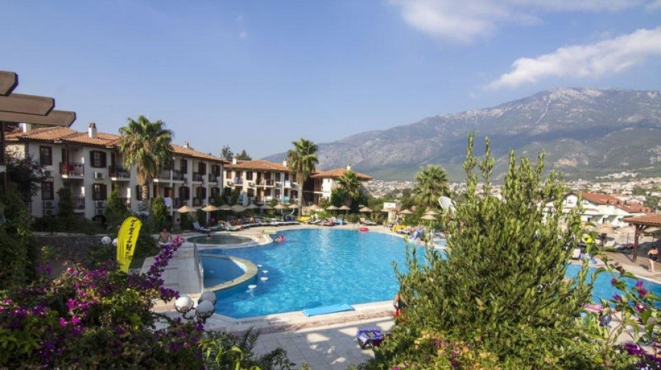 Отель Telmessos Oludeniz Hotel 4*, Фетхие, Турция