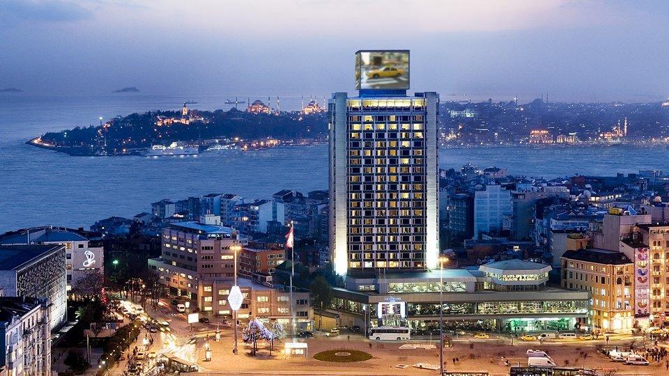 Отель The Marmara Taksim 5*, Стамбул, Турция