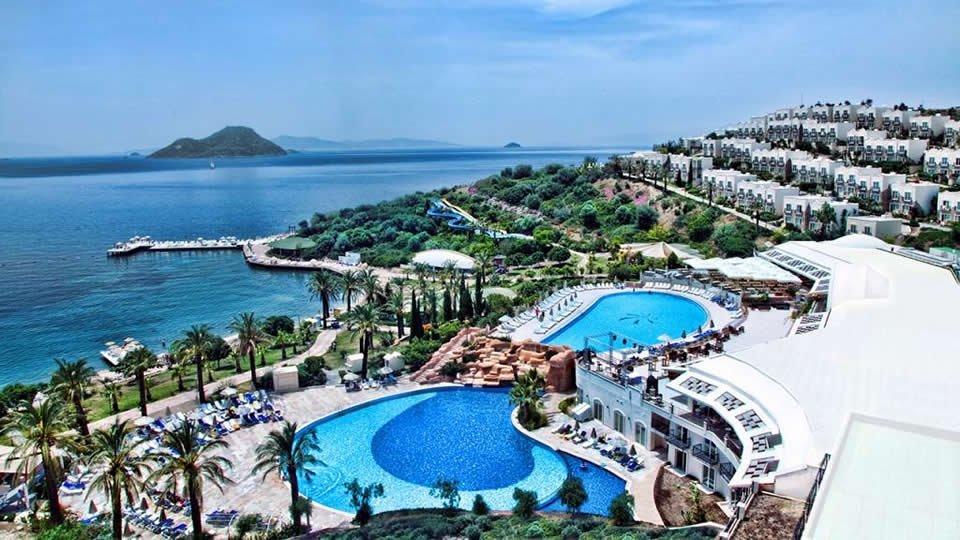 Отель Yasmin Bodrum Resort Hotel 5*, Бодрум, Турция
