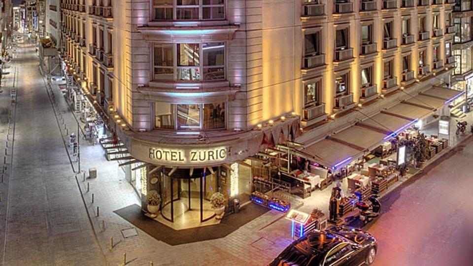 Отель Zurich Hotel Istanbul 4*, Стамбул, Турция