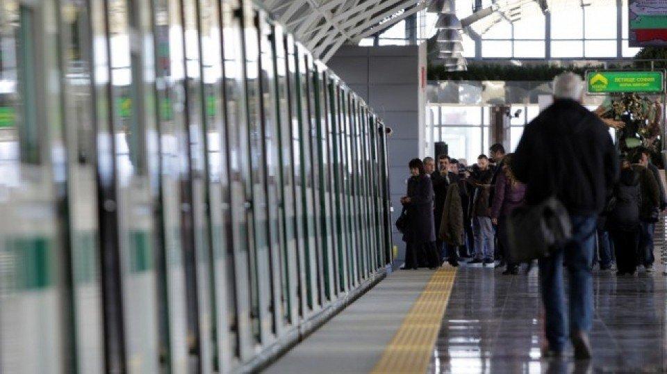 Аэропорт в Софии соединили с метро и железной дорогой