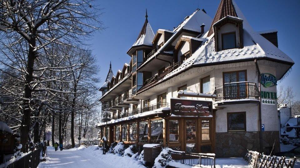 Польский горнолыжный курорт Закопане находится у подножья Польских Татр