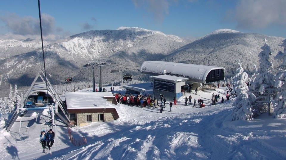 Наибольшим спросом среди лыжников в Словакии пользуется горнолыжный курорт Ясна