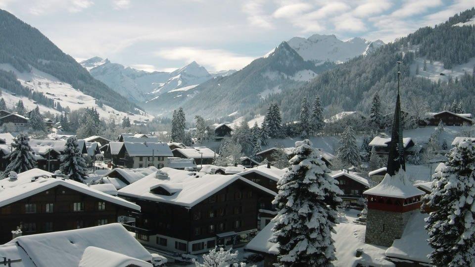 Гштаад - горнолыжный курорт международного класса в Швейцарии