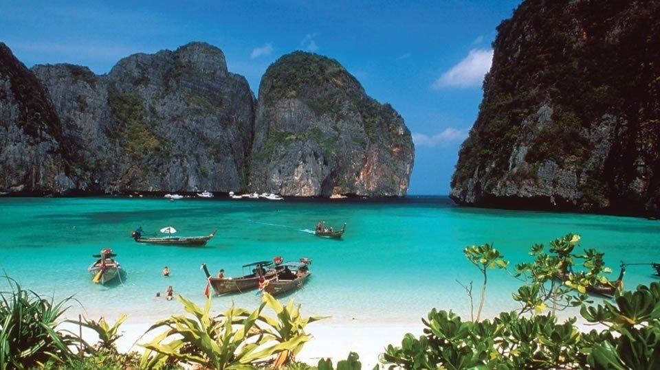 Экзотические пляжи и острова Таиланда