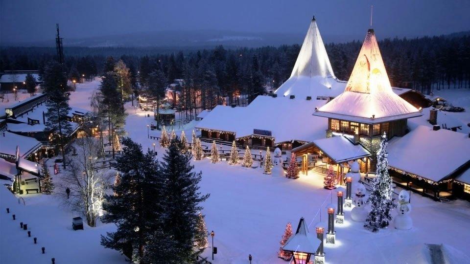 Лапландия - родина Санта-Клауса